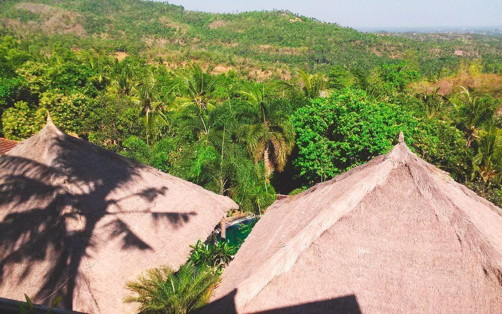 Indonesien_Villa_Lombok_Aussicht