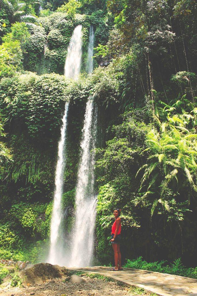Indonesien_Wasserfälle_Lombok