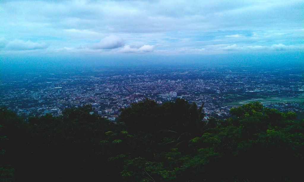 Aussicht_Wat-doi-suthep-tempel-chiang-mai