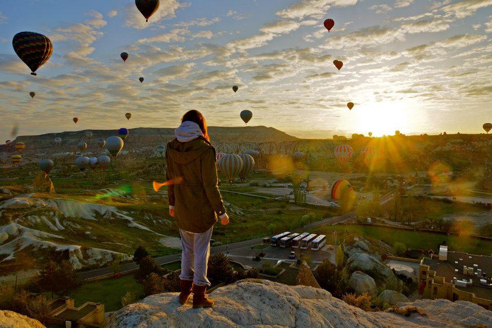 Cappadocia_Türkei_Heißluftballons