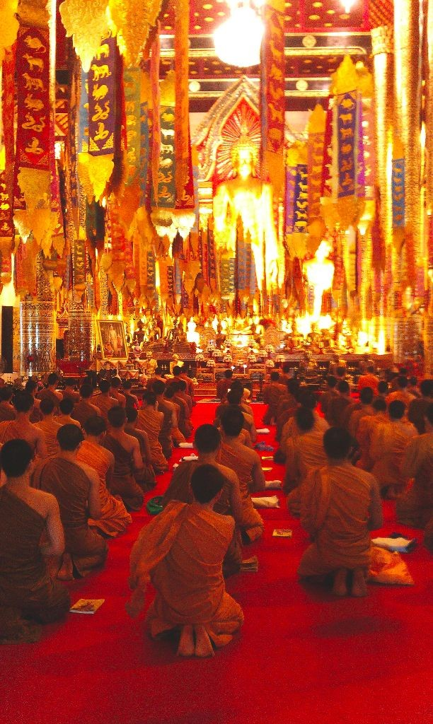 Mönche-in-Thailand-Chiang-Mai-2