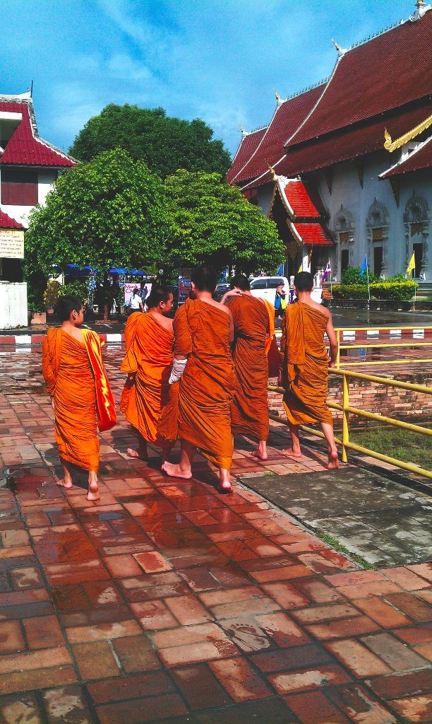 Mönch-in-thailand-chiang-mai