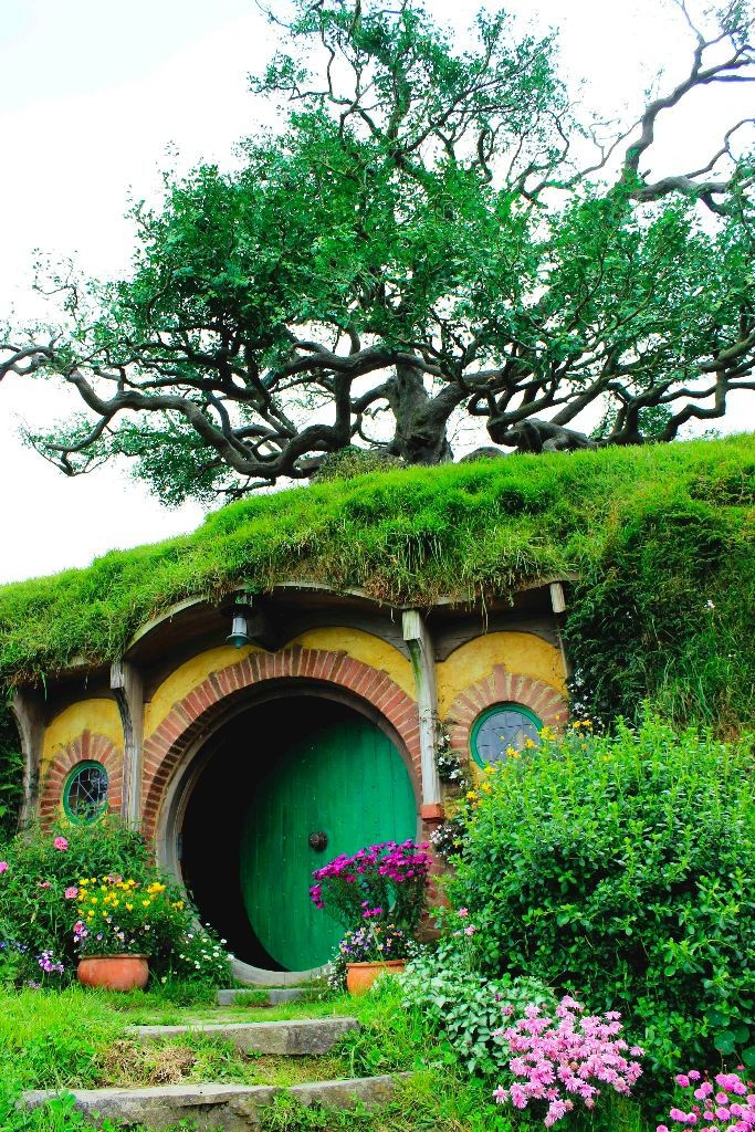 Neuseeland-Hobbiton-Matamata-Frodos-Haus