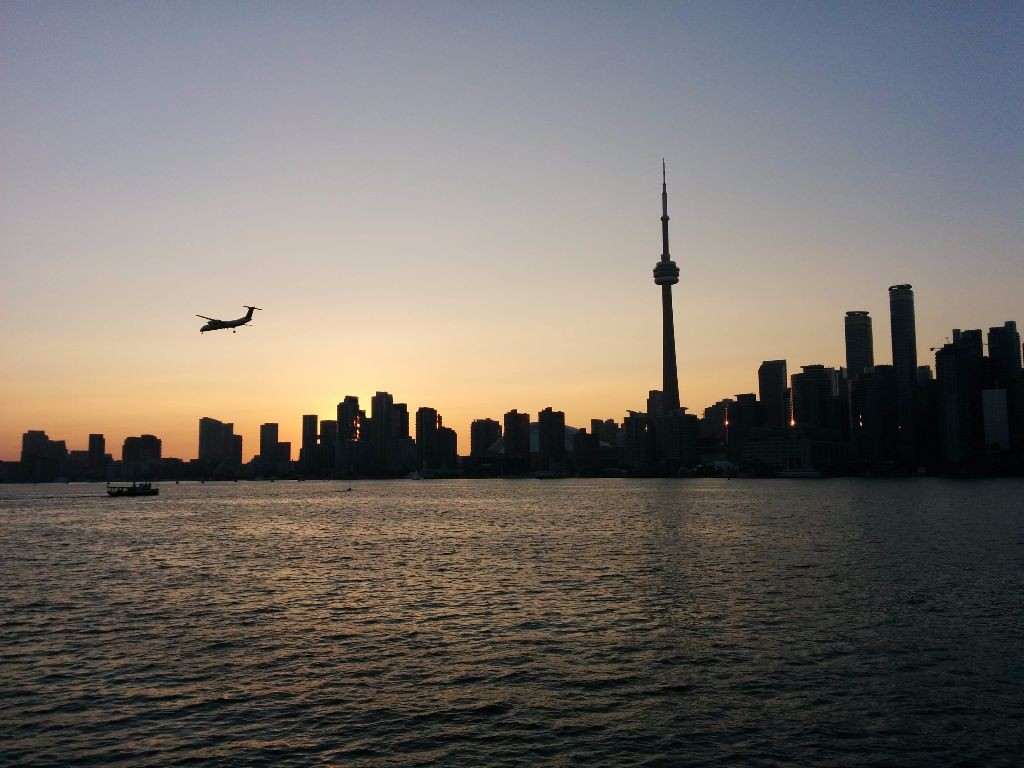 View from Toronto's Islands