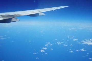 Flugzeug-Himmel