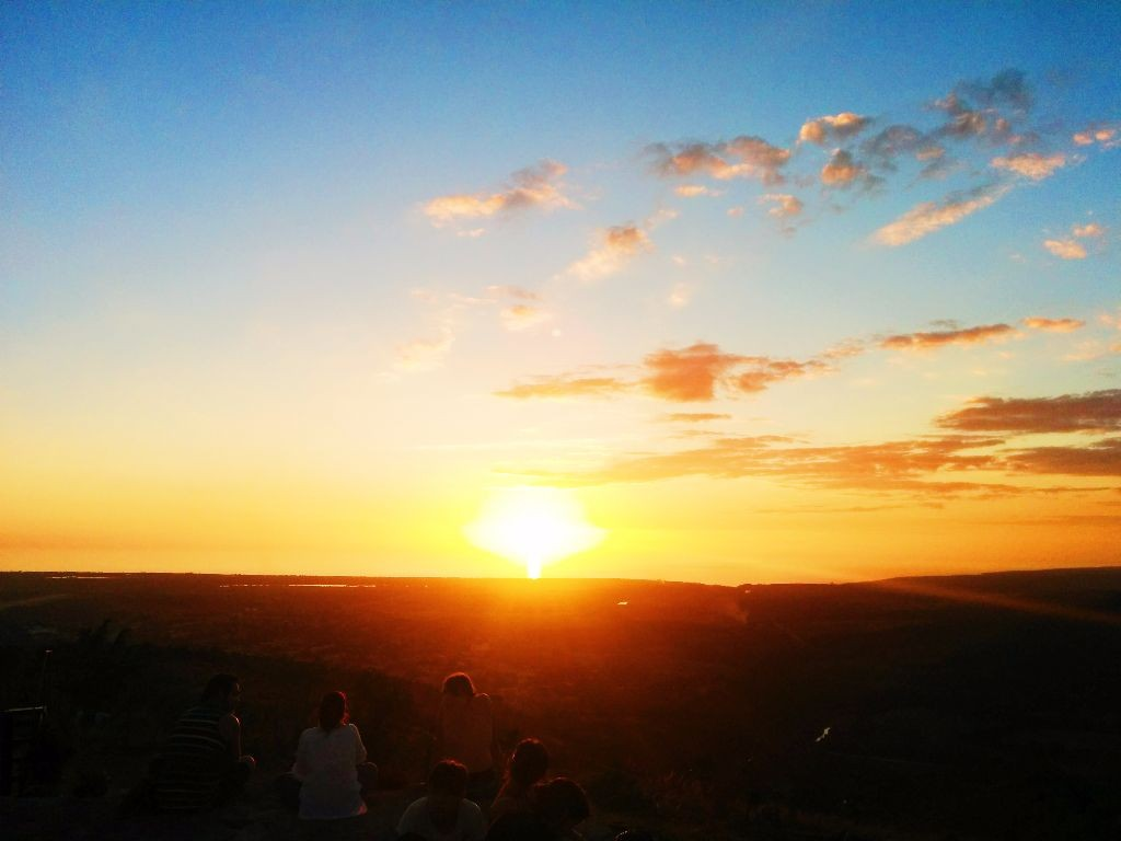 Sonnenuntergang-Trinidad