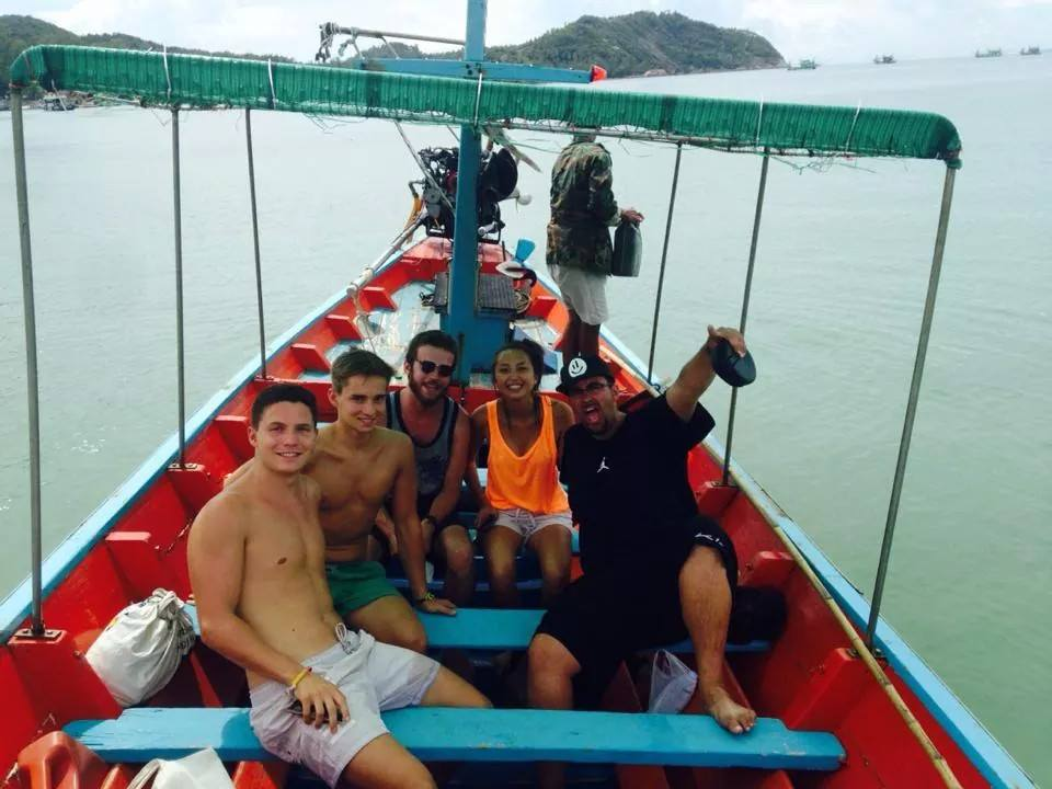 koh phangan longtail boat
