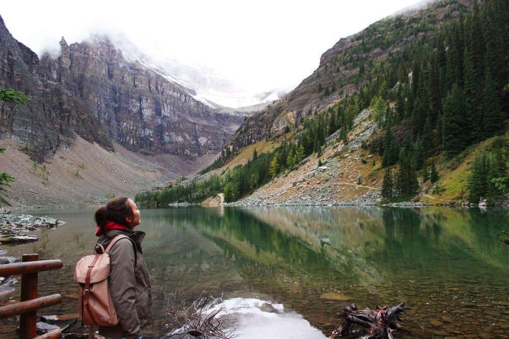 Lake Agnes in Banff