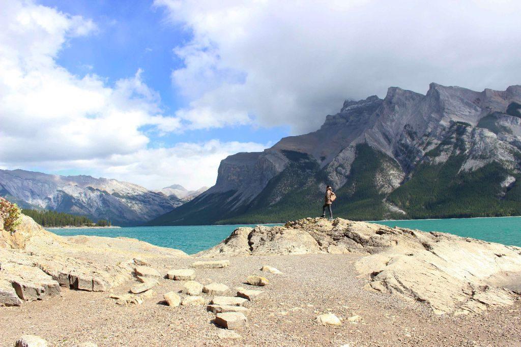 Lake Minnewanka in Banff