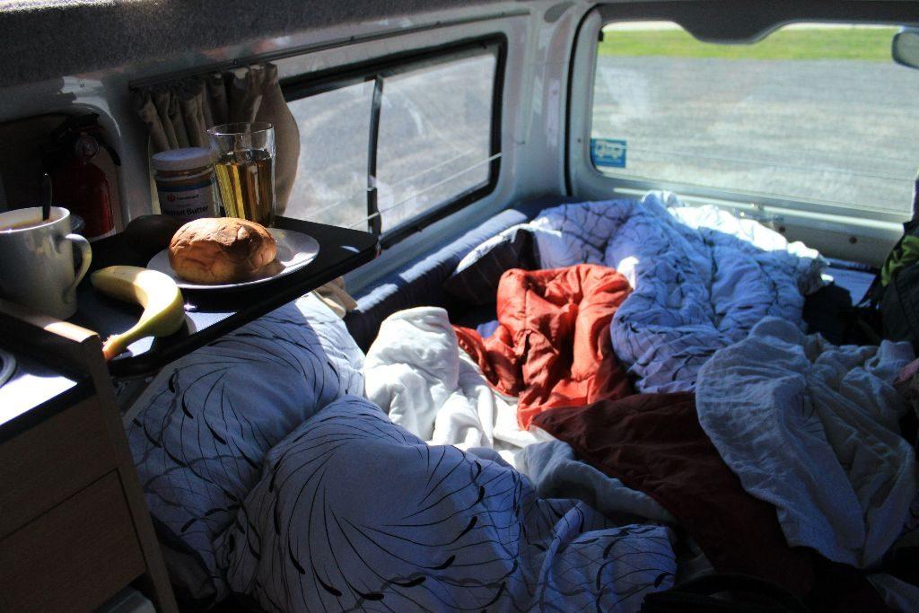 Camper Van in Neuseeland
