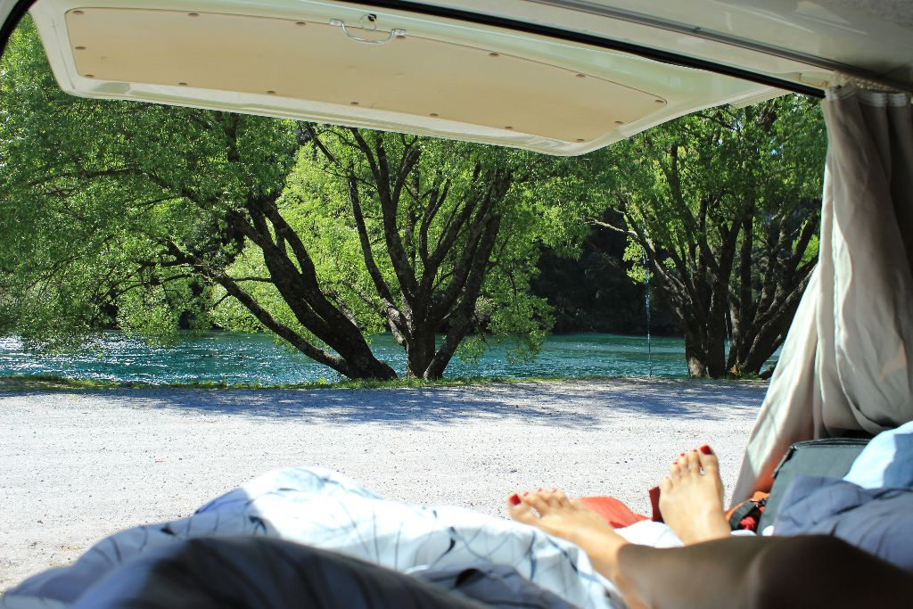 Camping in Neuseeland