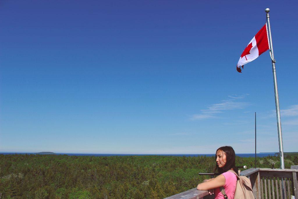 Aussichtspunkt in Tobermory - Bruce Peninsula