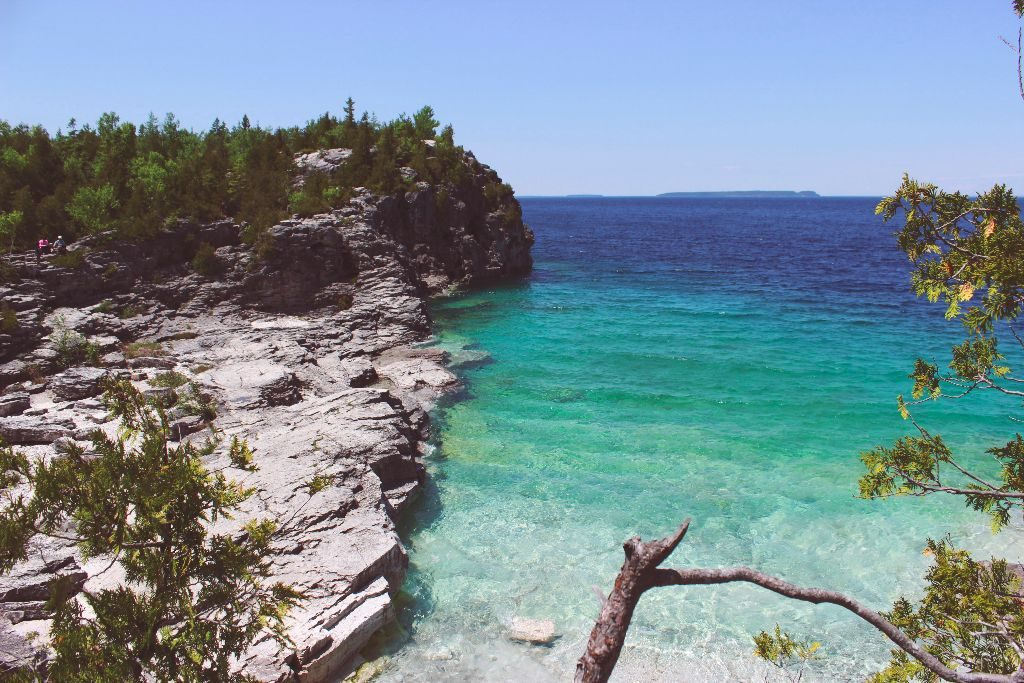 Indian Head Cove in Bruce Peninsula