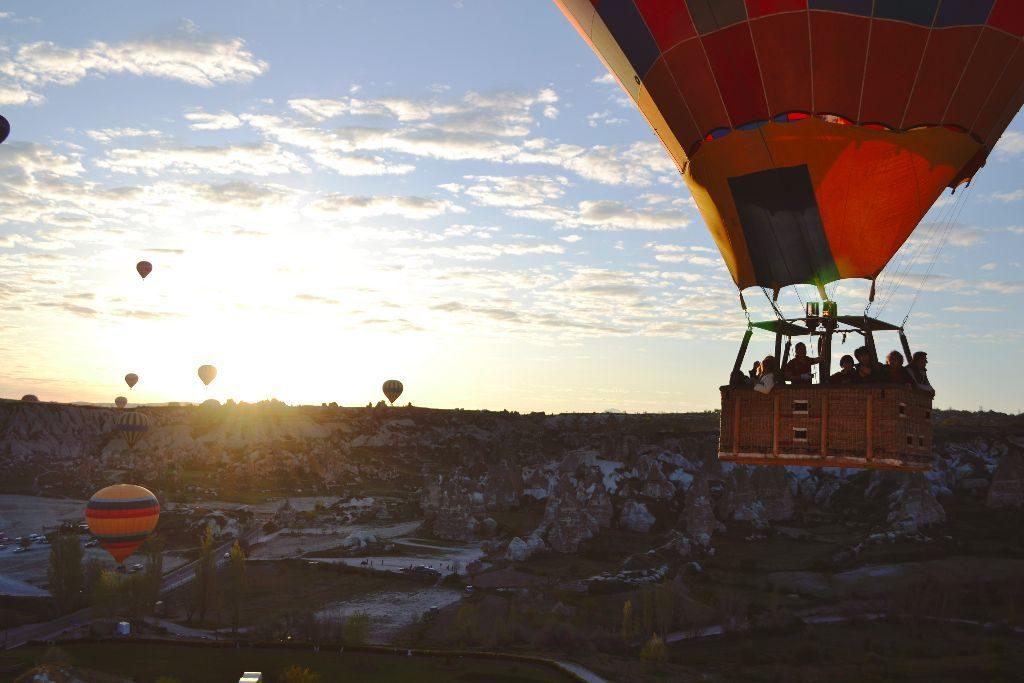 Kappadokia Heißluftballons
