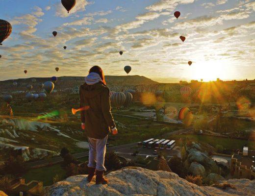 Kappadokien Heißluftballons