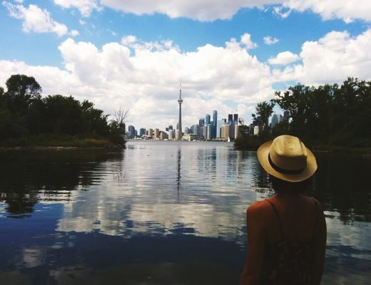 Toronto Islands Skyline