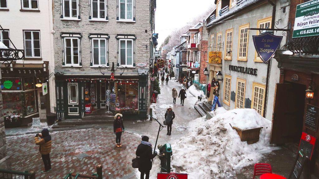 Quebec_Quartier du Petit Champlain1