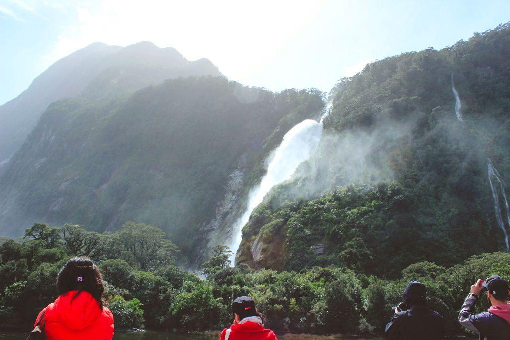 Milford Sound Neuseeland Lady Bowen Falls