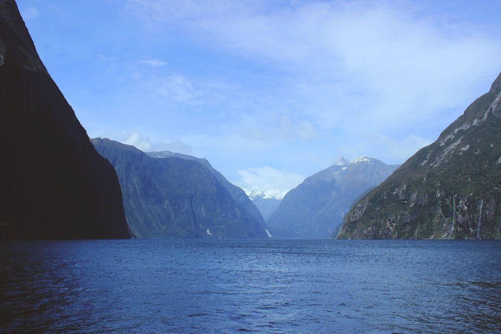 Milford Sound Neuseeland Sinbad Gully