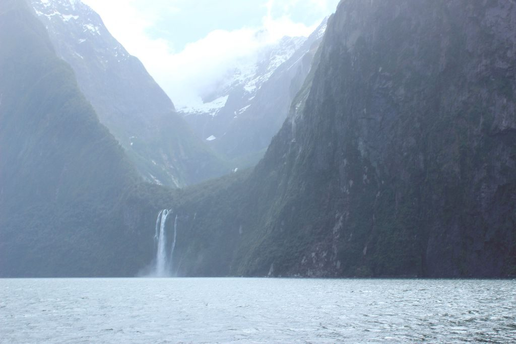 Milford Sound Neuseeland Stirling Falls
