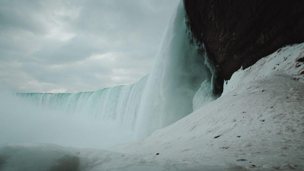 Niagara Fälle im Winter