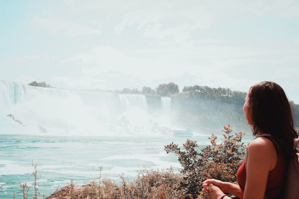 Niagara Fälle im Sommer