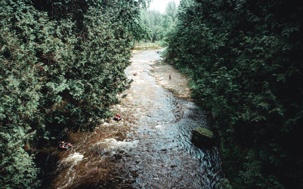 Elora Gorge, Tubing