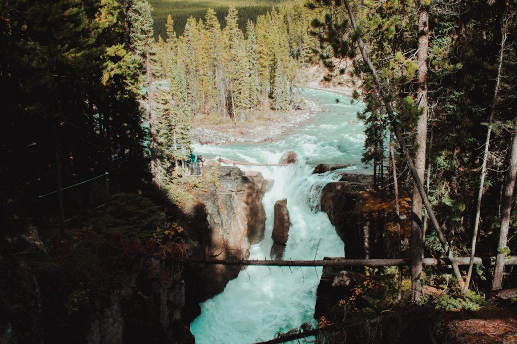 Athabasca Falls, Jasper, Kanada