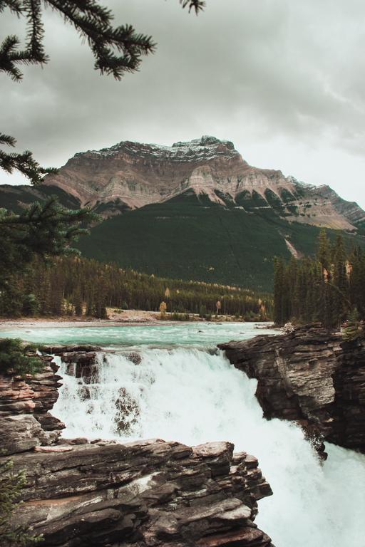 Athabasca Falls, Banff, Kanada