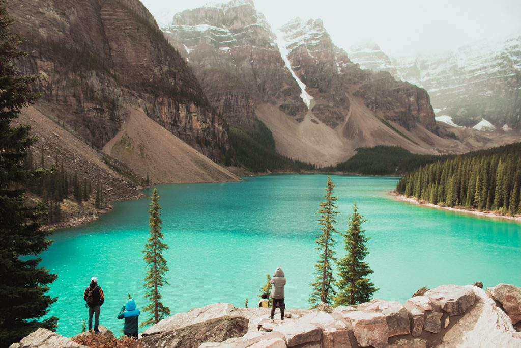 Lake Moraine, Banff, Kanada