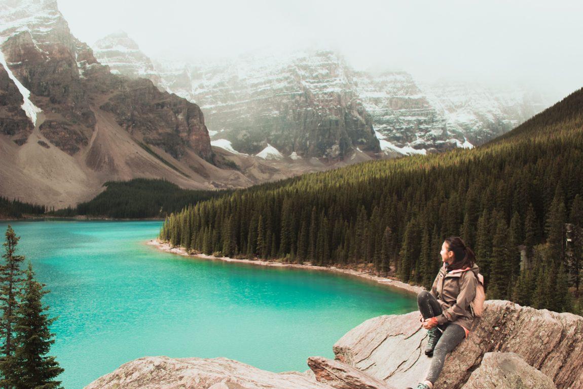 Lake Moraine, Banff, Kanada