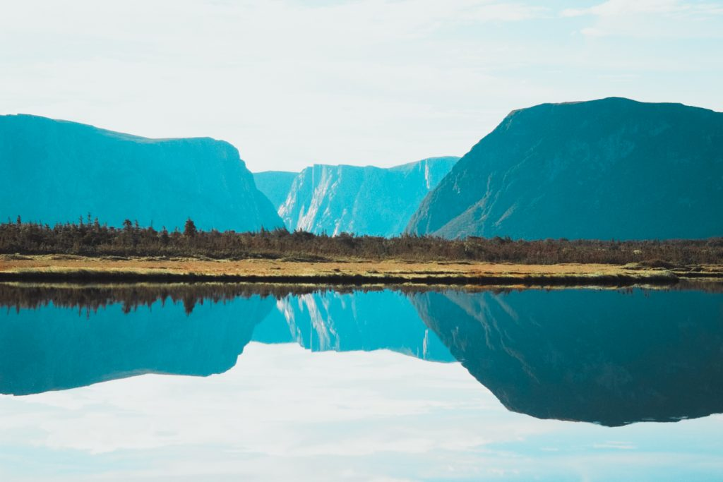 Western Brook Pond, Neufundland, Kanada