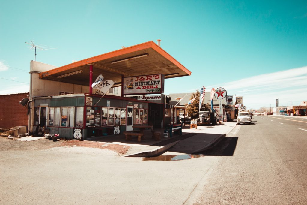 Delgadillos Snow Cap, Seligman, Arizona