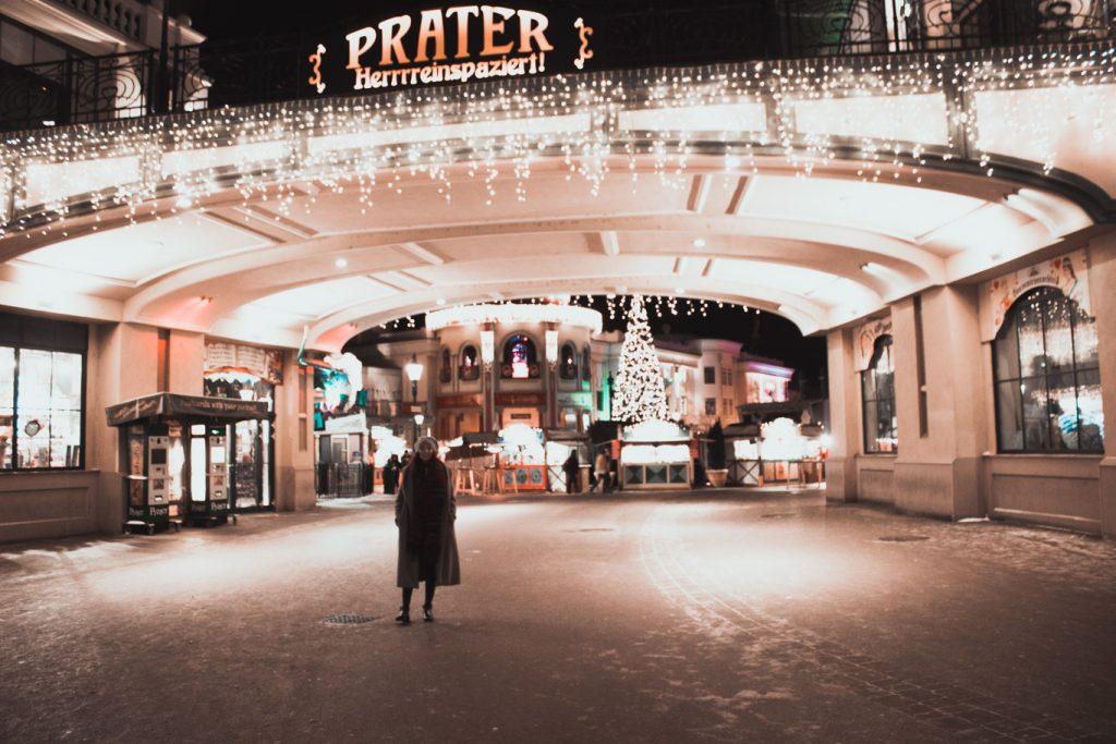 Wien im Winter, Riesenrad am Prater