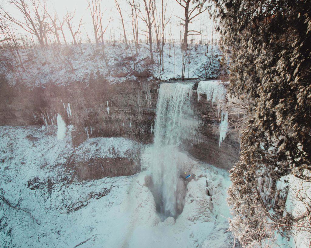 Hamilton Wasserfälle, Tews Falls