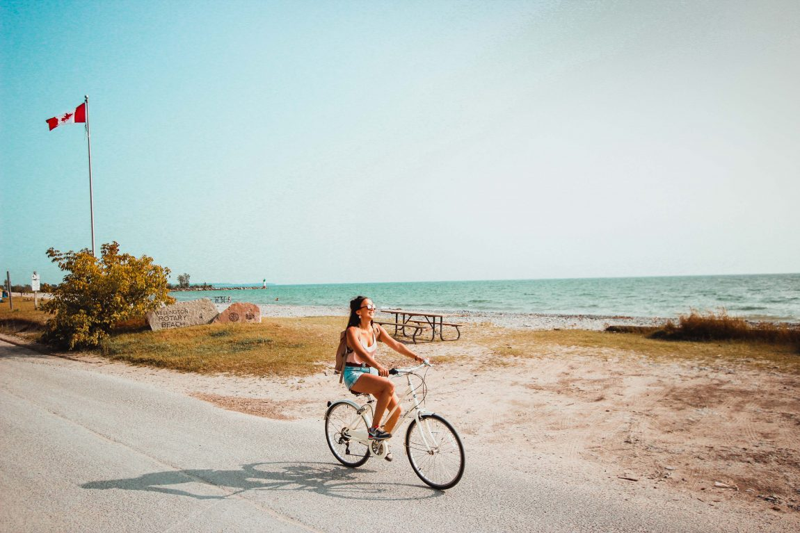 Prince Edward County, Girl on Bike