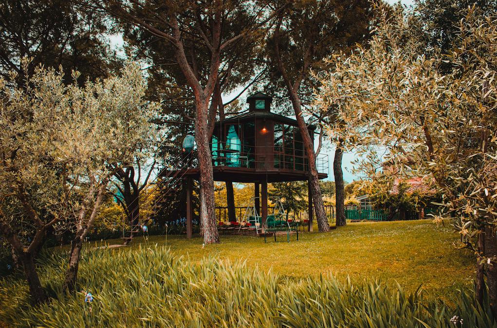 Toskana, Baumhaus Erlebnis