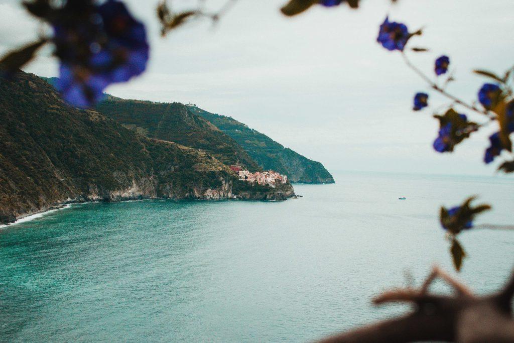 Manarola, Italien, Cinque Terre, Aussicht