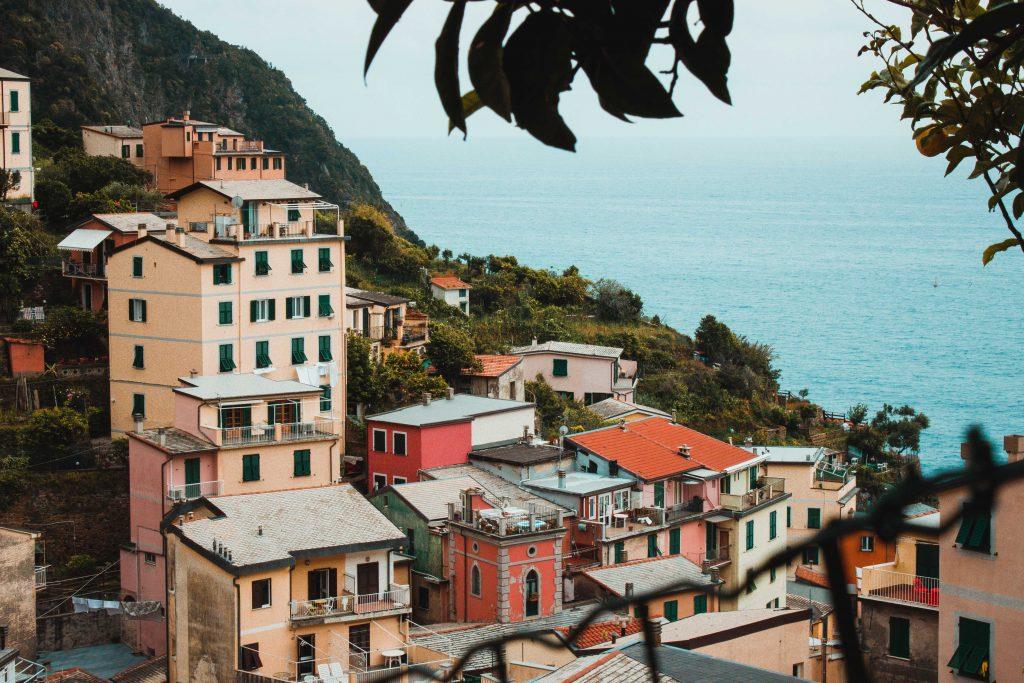 Riomaggiore, Italien, Cinque Terre, Stadt