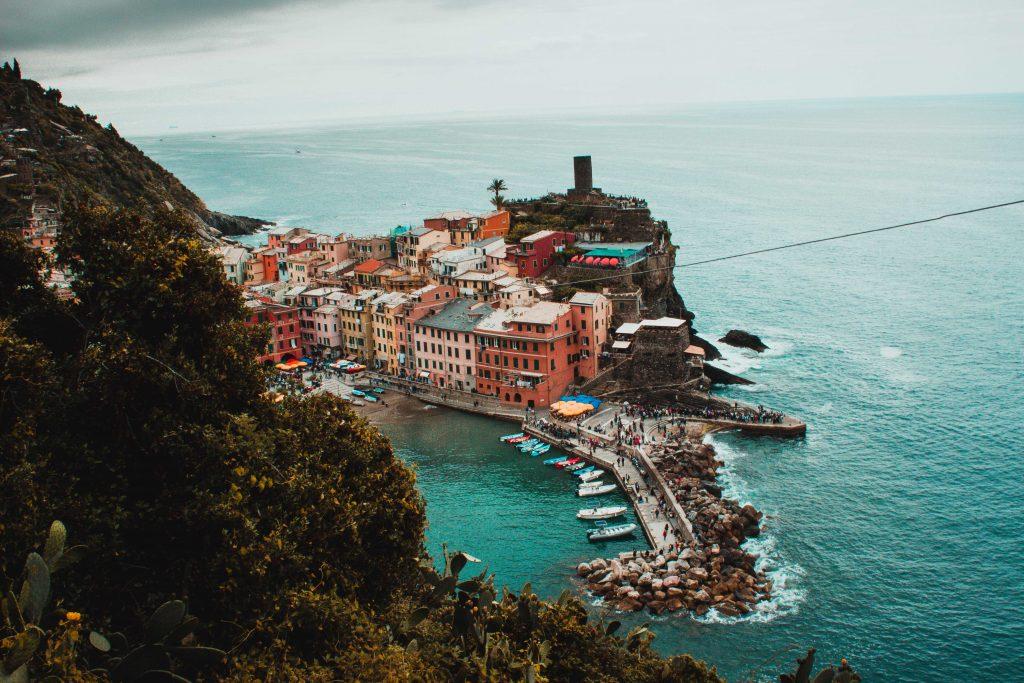 Vernazza, Italien, Cinque Terre, Aussicht