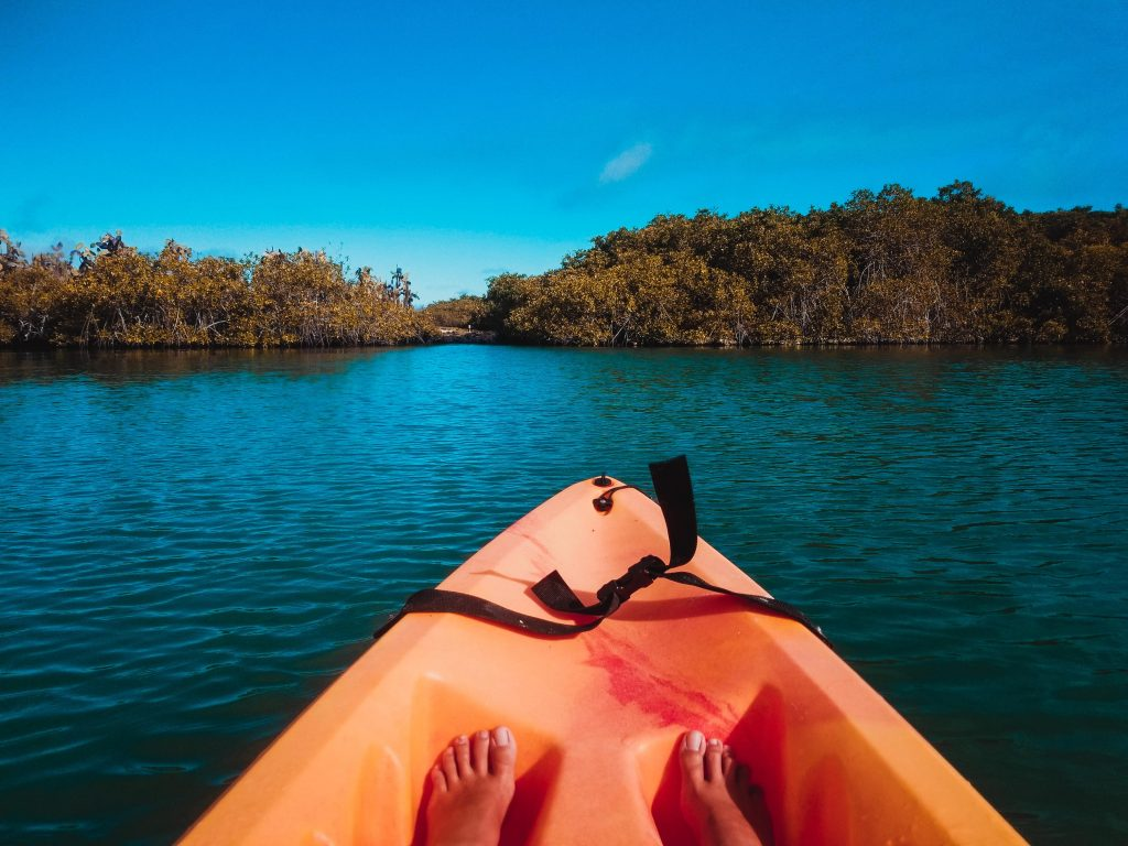 Kayak, Galapagos Insel, Tortuga Bay