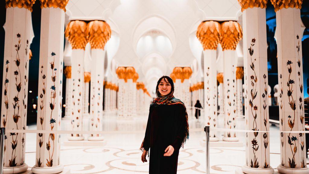 Abu Dhabi's Scheich Zayid Moschee
