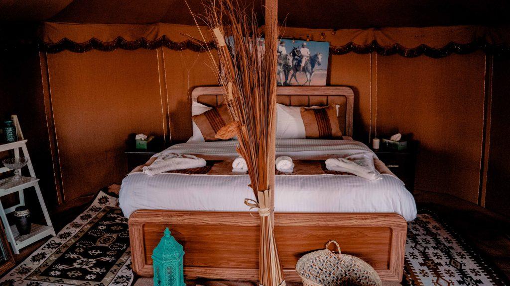 Oman Wüsten Camp, Beduinenzelt