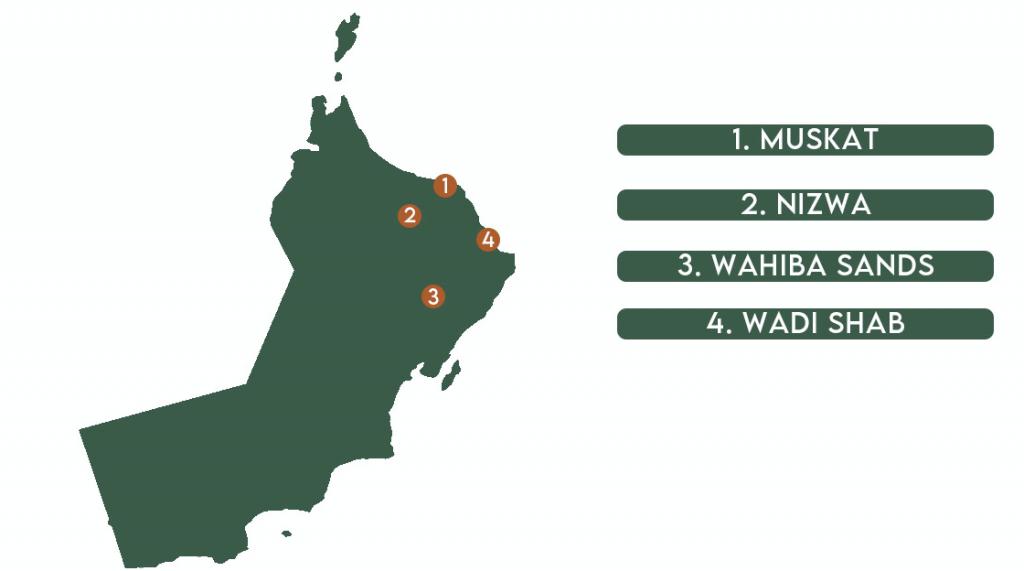 Oman Route